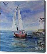 Southampton Wind Canvas Print