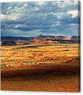 Southeastern Utah Desert Panoramic Canvas Print