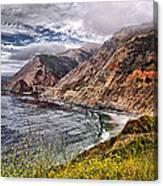 Souther California Coast Canvas Print