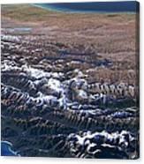 Southern Alps, New Zealand, 3d Artwork Canvas Print