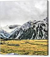 Southern Alps Nz Canvas Print