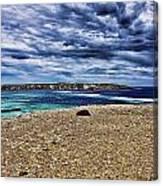 Southern Coastline V6 Canvas Print