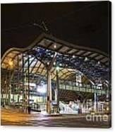Southern Cross Rail Station In Melbourne Australia Canvas Print