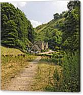 Southern End Of Wolfscote Dale Canvas Print
