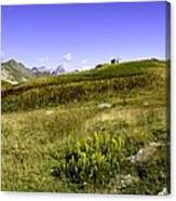 Southern France The Alps Canvas Print