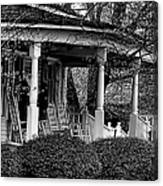 Southern Front Porch 4 Canvas Print