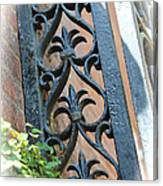 Southern Ironwork Canvas Print