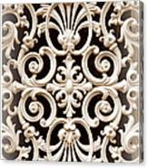 Southern Ironwork In Sepia Canvas Print