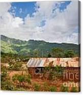 Southern Kenya Poverty Landscape Canvas Print
