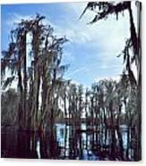 Southern Lake Canvas Print