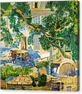 Southern Life By Stan Bialick Canvas Print