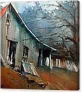 Southern Ohio Farm Yard Canvas Print