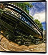 Southern Pacific 2472 Steam Engine 1921 Sunol Station Canvas Print