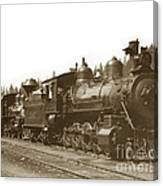 Southern Pacific Steam Locomotives No. 2847 2-8-0 1901 Canvas Print
