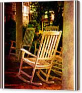 Southern Sunday Afternoon Canvas Print
