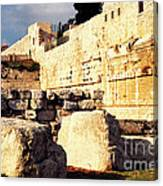 Southern Temple Mount Canvas Print