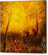 Southern Woods -original Sold- Buy Giclee Print Nr 36 Of Limited Edition Of 40 Prints   Canvas Print