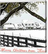 Southfork Christmas Canvas Print