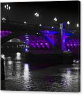 Southwark Bridge London Canvas Print