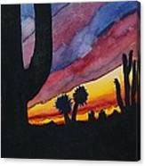 Southwest Art Canvas Print