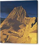 Southwest Face Of Alpamayo Peru Canvas Print
