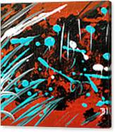 Southwest Rain Canvas Print