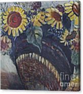 Southwest Sunflowers Canvas Print