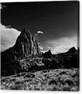 Southwestern Beauty In Black And White Canvas Print