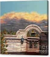 Southwestern Monsoon Sunset Canvas Print