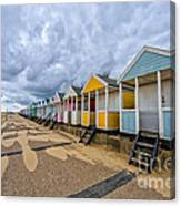 Southwold Beach Huts 4 Canvas Print