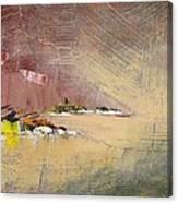 Souvenir De Vacances #23 - Memory Of A Vacation #23 Canvas Print