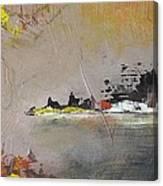 Souvenir De Vacances #33 - Memory Of A Vacation #33 Canvas Print
