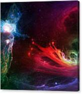 Space Cat Angel - 1 Canvas Print