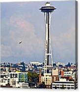 Space Needle Seattle Canvas Print