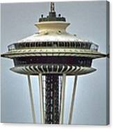 Space Needle Tower Seattle Washington Canvas Print