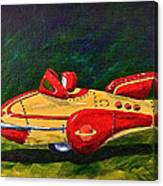 Space Patrol Two Canvas Print