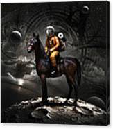 Space Tourist Canvas Print
