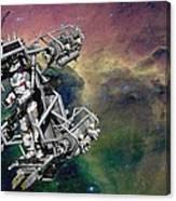 Space Walk Pod Canvas Print