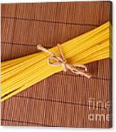 Spaghetti Italian Pasta Canvas Print
