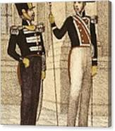 Spain 1833. Royal Guard Infantry Canvas Print