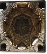 Spain. Cordoba. Mezquita Mosque. Dome Canvas Print