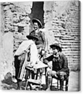 Spain Cowboys, C1875 Canvas Print