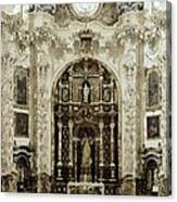 Spain. Granada. Cartuja Carthusian Canvas Print