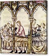 Spain: Medieval Hospital Canvas Print