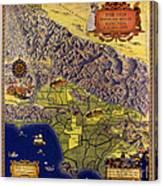 Spanish And Mexico Ranchos Canvas Print