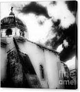 Spanish Cathedral Philippines Canvas Print