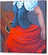 Spanish Dancer 2 Canvas Print