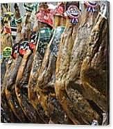 Spanish Ham Canvas Print