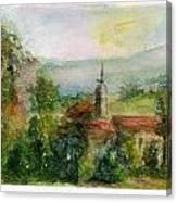 Spanish Landscape Canvas Print