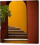 Spanish Stairway Canvas Print